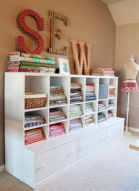 sewing room storage organizing a craft room studio design gallery best design