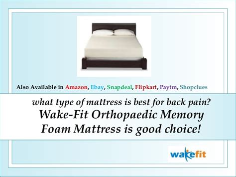 What Type Of Mattress Is Best For Back by What Type Of Mattress Is Best For Back Fit