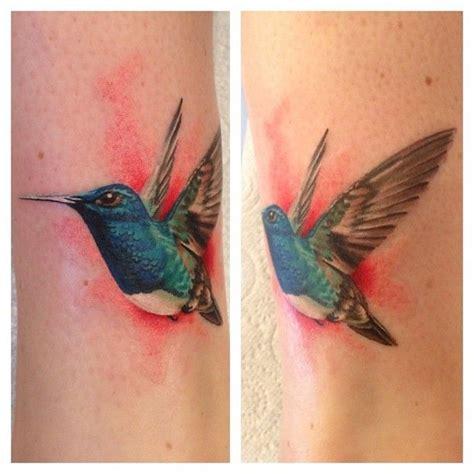 realistic hummingbird inkspiration