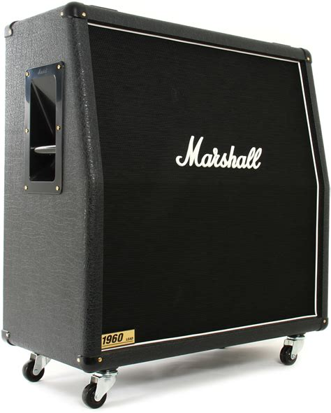 Marshall Cabinet 1960 marshall 1960a 300 watt 4x12 quot angled extension cabinet gearnuts