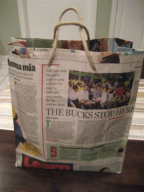 Make News Paper - 19 diy newspaper bags guide patterns