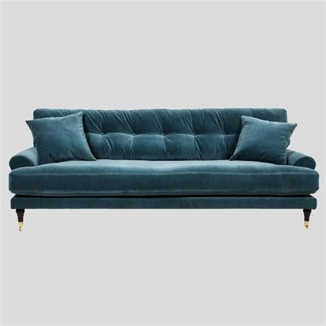 sofa scandinavian design petrol velvet sofa scandinavian design att pynta