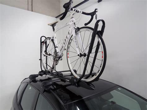Wheel Bike Rack by Inno Tire Hold Ii Roof Bike Rack Wheel Mount Cl On