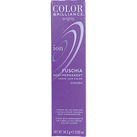 ion color brilliance fuschia ion color brilliance brights semi permanent hair color