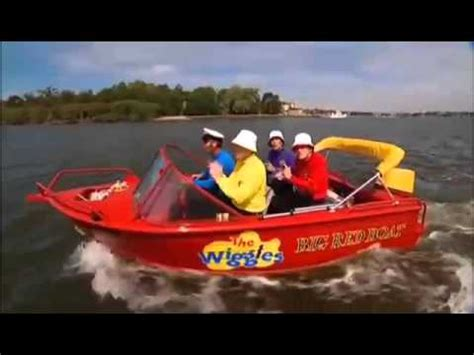 big boat song the wiggles splish splash big red boat part 2 youtube