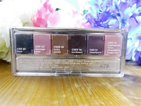 A Surge Of Colour For The by Miss Becca Clinique Colour Surge Eyeshadow Palette