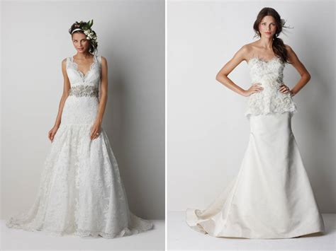 v neck lace drop waist 2011 wedding dress with sparkling