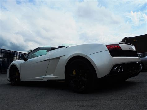 White Lamborghini Gallardo Convertible Used Lamborghini Gallardo Lp 560 4 Spider Facelift Model