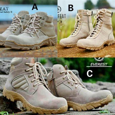 Sepatu Lapangan Sepatu Safety Sepatu Boots Pria Bahan Kulit Lbu 405 Jual Sepatu Boots Safety Radial Moofeat Original