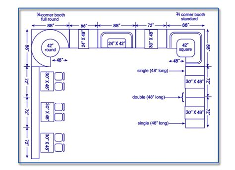 Seatingexpert Com Restaurant Seating Chart Amp Design Guide