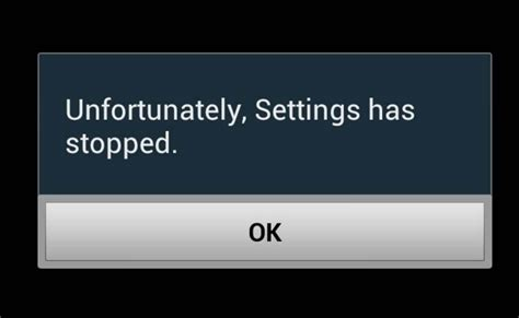 android phone stopped fixing unfortunately settings has stopped on any android device