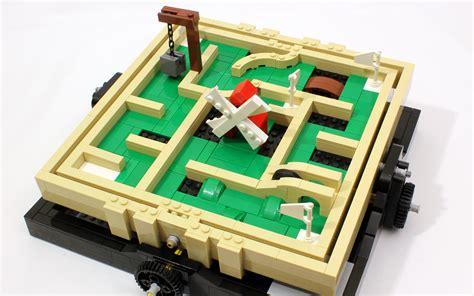 lego labyrinth tutorial motorized mini golf maze jk brickworks