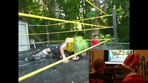 backyard wrestling youtube backyard wrestling theater ep 1 asylum klown vs