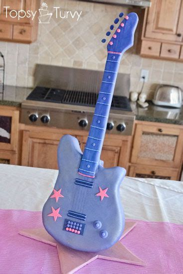 tutorial guitar up guitar cake guitar and barbie on pinterest