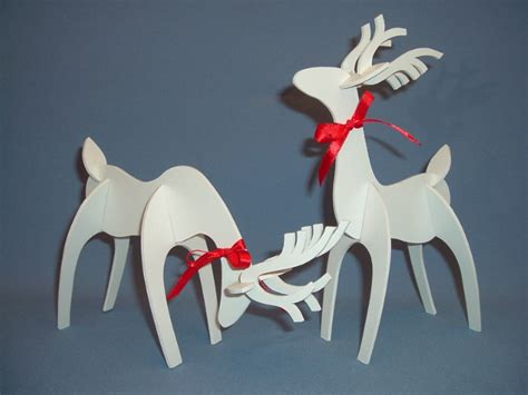 pattern for white wooden reindeer plywood reindeer mastercraft wood turning lathe