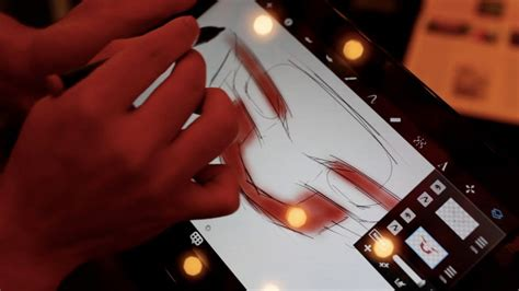 sketchbook pro on android tablet autodesk sketchbook pro demo for android shown on lenovo