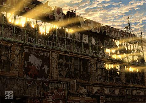 billiken pixiv post apocalyptic images of japan gakuranman