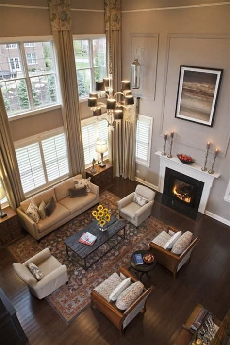 room story 89 best images about two story family room on family room curtains high ceilings