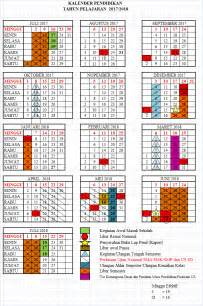 Kalender Juli 2018 Jawa Kalender Pendidikan Tahun Pelajaran 2017 2018