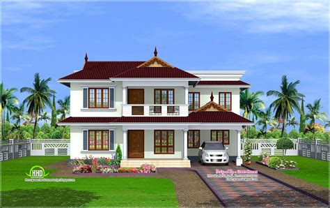 kerala house model plan 2600 sq feet kerala model house kerala home design and floor plans