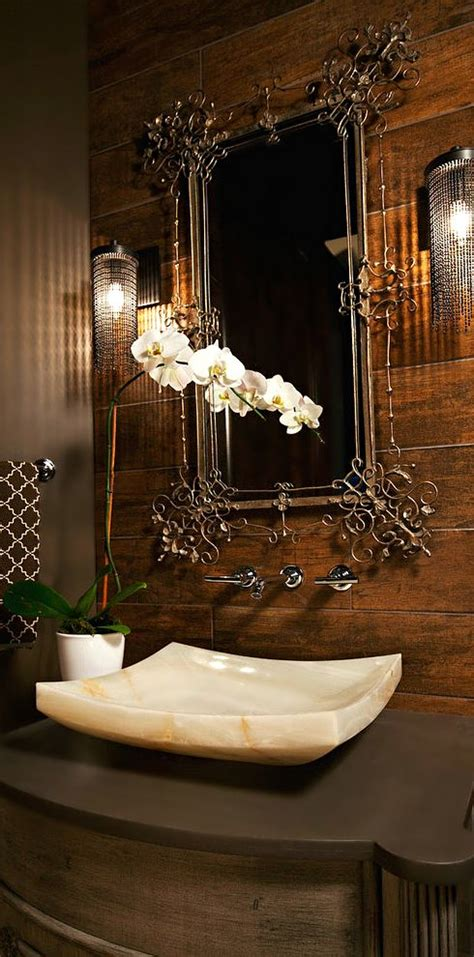 powder room sink ideas beautiful bathroom bathrooms pinterest sinks mirror