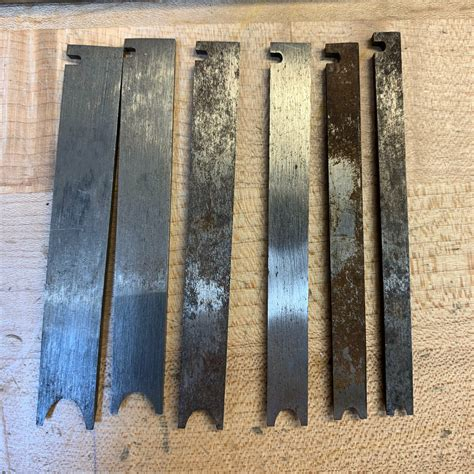 6 Stanley No 45 55beading Cutters