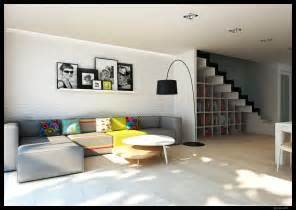 Contemporary Home Interior Modern Interiors Visualized By Greg Magierowsky