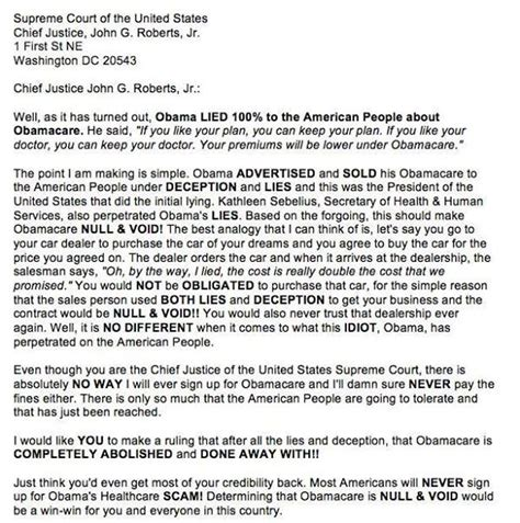 Lemon Letter To Dealer Angry Man S Epic Letter Destroys Obamacare And Compares Obama To A Used Car Salesman
