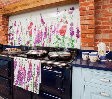 fiori in cucina rivestimenti per pareti cucina home design ideas home