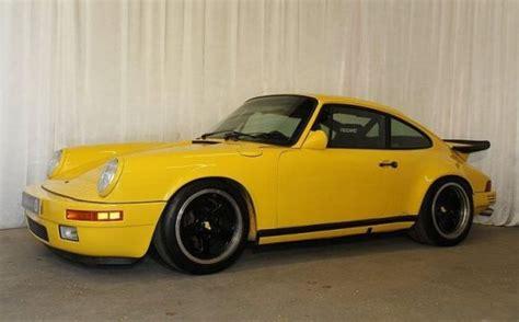 porsche yellow bird continuation yellowbird 1978 porsche 911 ruf ctr bring