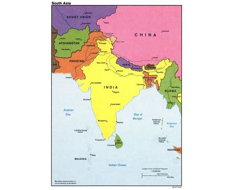 map of cities in asia maps of south asia south asia maps collection of