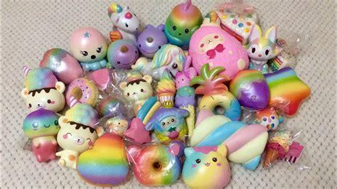 Squishy Rainbow Squishy Es Krim Squishy rainbow squishy collection ashlee jayne