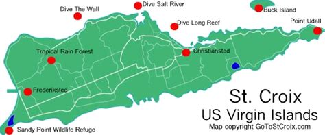 st croix us islands map explore tropicalusvi