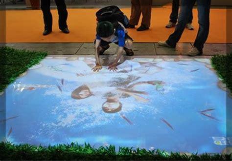 Interactive Floor by Interactive Projections Window Floor Wall Wow Displays On