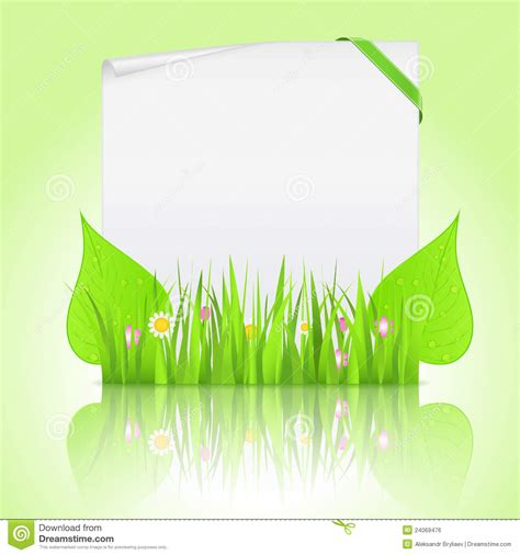Paper Grass - paper with grass royalty free stock image image 24069476