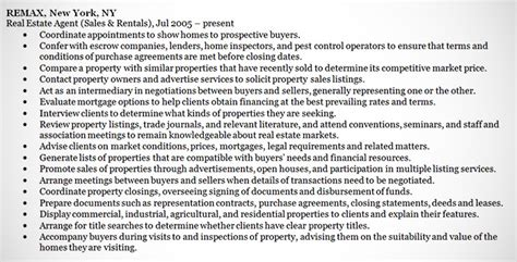Create Resume Free Online by Real Estate Agent Resume Example Sample
