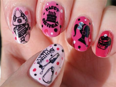 17 best images about nails birthday on birthday nail birthdays and coral cupcakes nail archives world of temptations