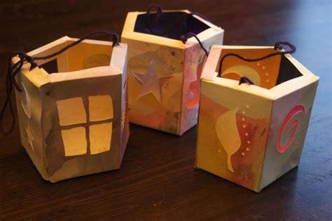 Handmade Lanterns From Paper - paper lantern tutorial clean
