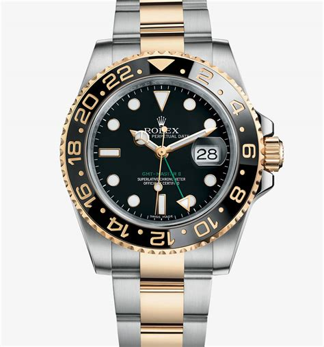 rolex gmt master ii watch 18 ct yellow gold 116718ln swiss rolex fakes gmt master ii watch yellow rolesor