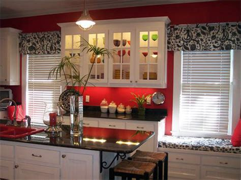Red And Black Kitchen Ideas red white kitchen ideas