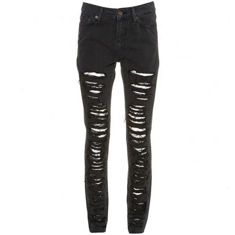 ripped skinny jeans polyvore diy ripped skinny jeans la belle et la it girl liked on