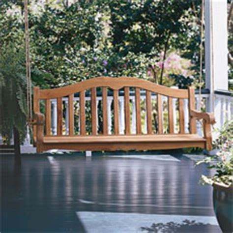 make your own porch swing how to build and hang a porch swing this old house
