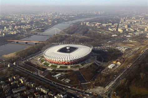 Schlaich Bergermann Und Partner national stadium warsaw football arena in poland e