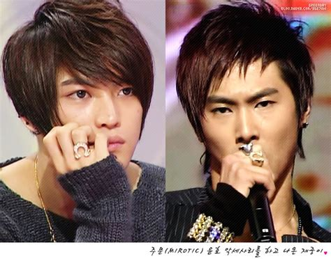 YunJae?s new couple rings?!   Love from Cassiopeia   HanLei Blog