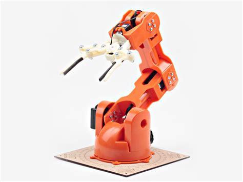 Home Design Unlimited Braccio Diy Tinkerkit Robotic Arm Arduino Controlled