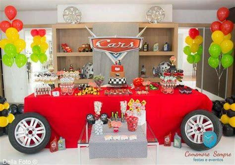 cars theme decorations dicas de decora 231 227 o de festa infantil o tema carros