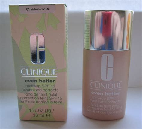even better clinique test test foundation clinique even better makeup spf 15