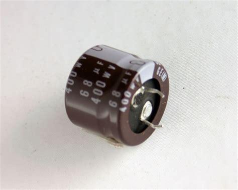 how do snap in capacitors work 12x 68uf 400v radial snap in mount electrolytic aluminum capacitor 105c 400vdc ebay