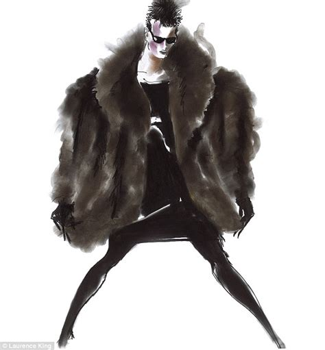 80s Sketches by Tony Viramontes Fashion Illustrations Reveal Of