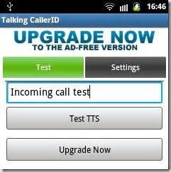 talking caller id app for android android talking caller id app for calls and sms